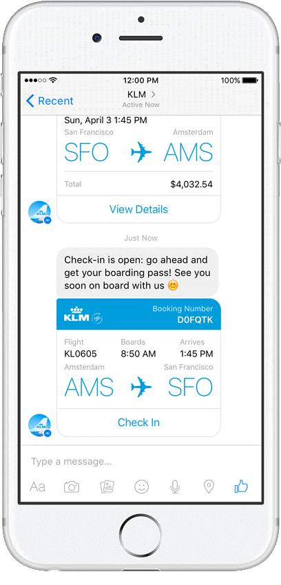klm-chatbot-facebook-messenger