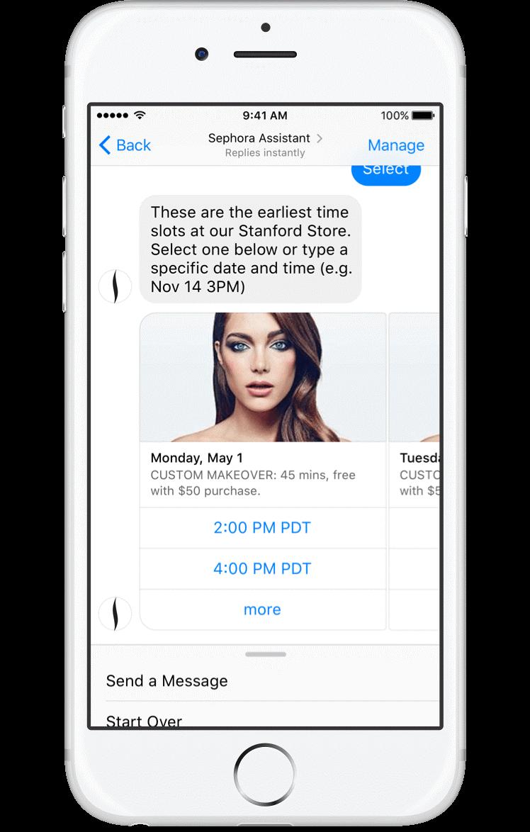 sephora-messenger-chatbot